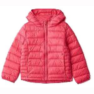 Gap Kids Pink ColdControl Lightweight Puffer
